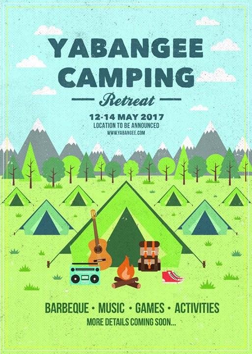 Yabangee Goes Camping