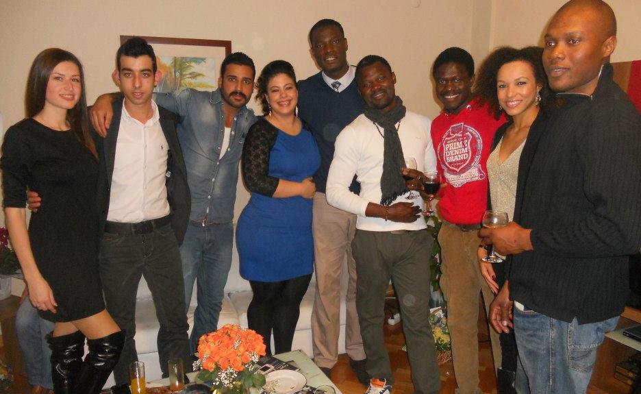 Ezgi Adeoye with some of her foreign talent (Source: E. Adeoye)