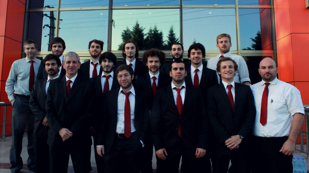 Koç University Hockey Team (Source: S. Nekrasova)
