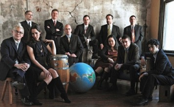 The band Pink Martini, which one of our writers recently reviewed.