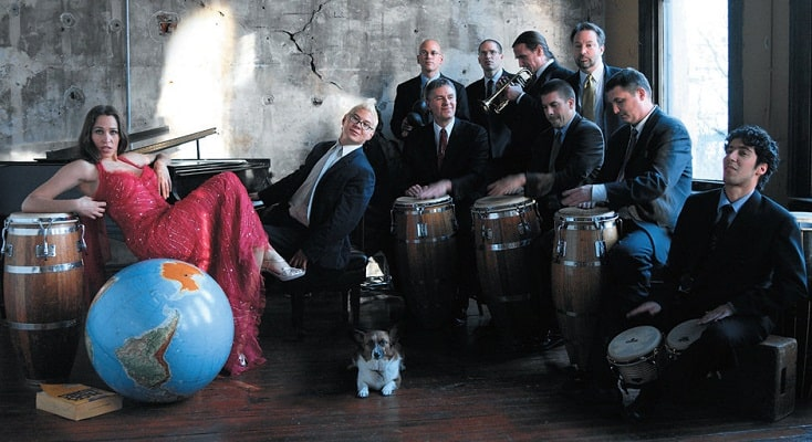 The band Pink Martini, which recently played in Istanbul.
