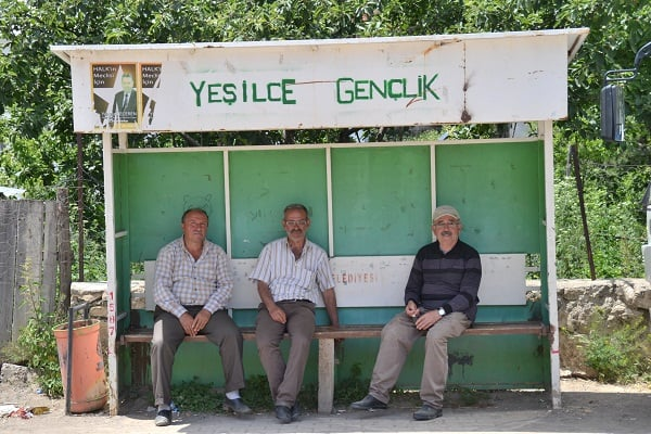 'Yeşilce Youth' bus stop (Source: Z. Güven)
