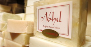 Handmade soaps at Nahıl