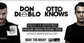 Don Diablo & Otto Knows @ Maslak Arena