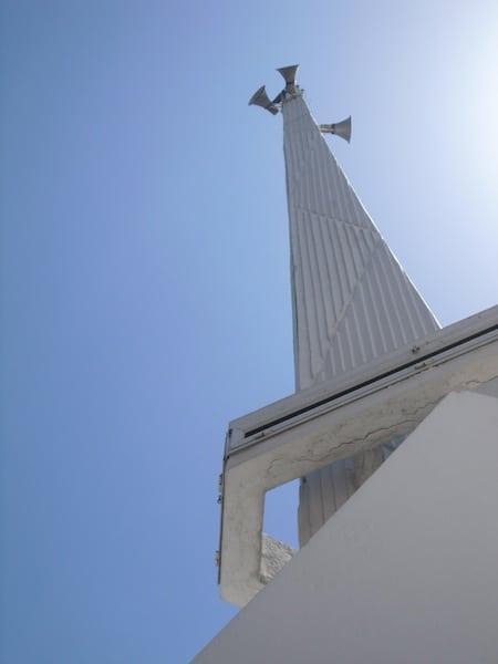 The minaret of the Kınalıada Mosque (Source: S. Brusadin)