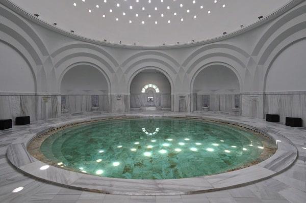The thermal bath at Çelik Palas in Bursa (Source: Çelik Palace)