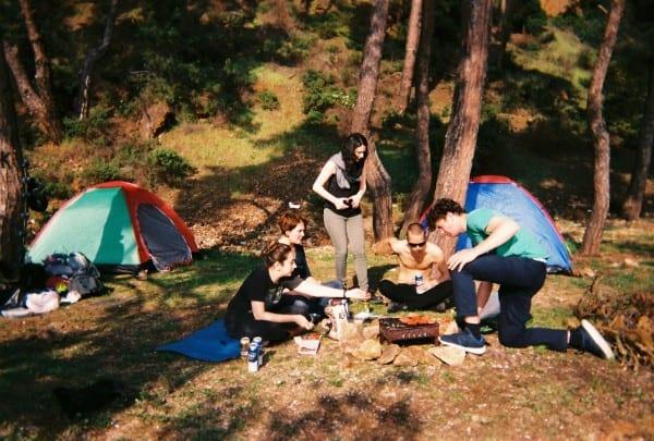 burgazada camping