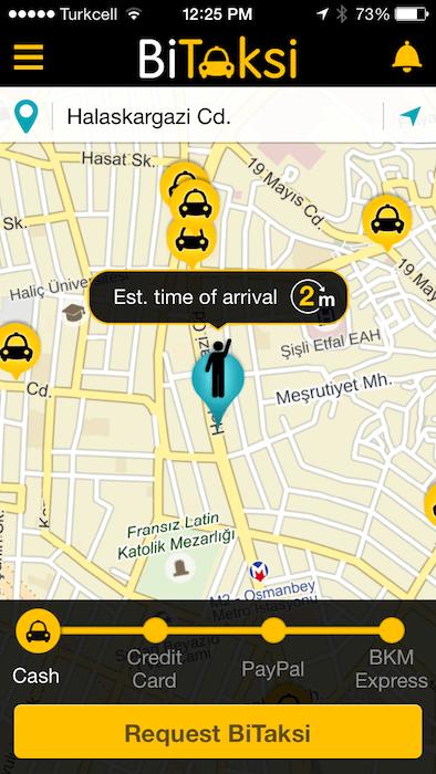 Best apps BiTaksi1