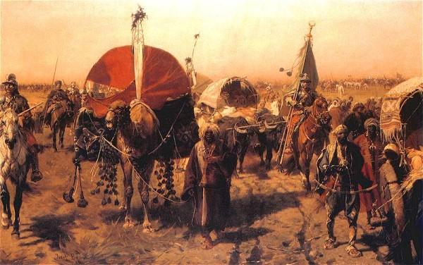 Evliya Çelebi accompanied the Ottoman army on several campaigns (Source: Wikipedia)