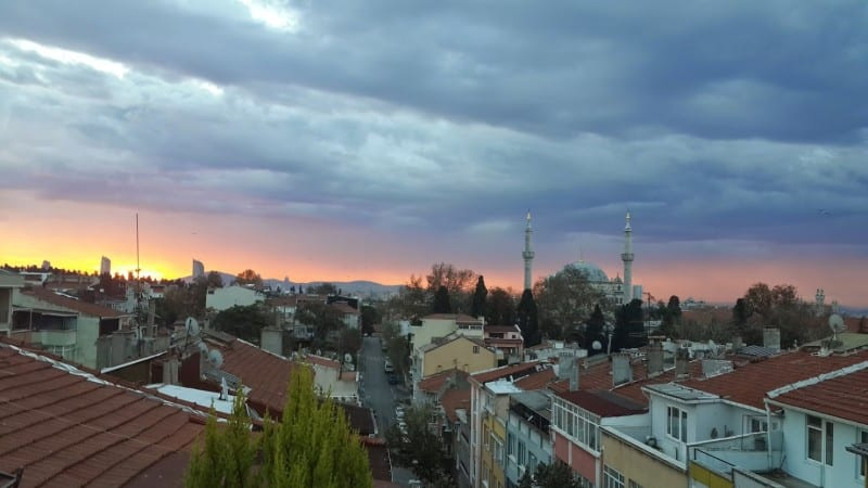 istanbul terrace view