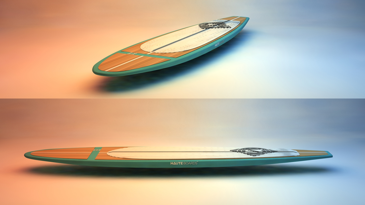 Surf board design