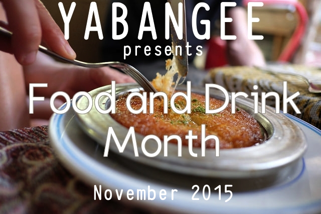food and drink month yabangee