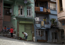 Balat, street scene
