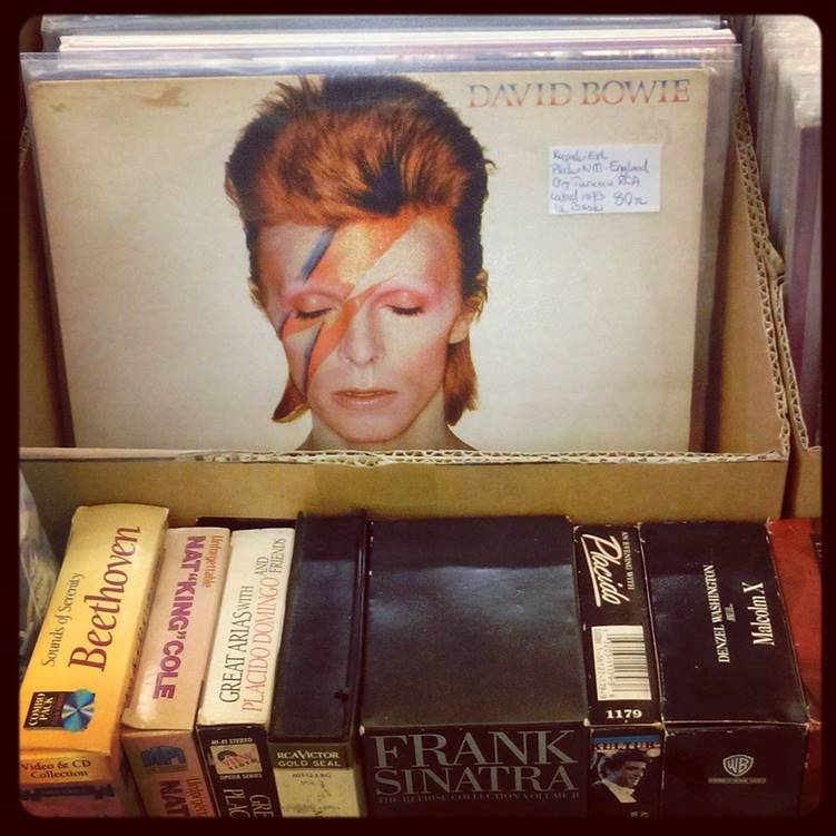 david bowie record (remembering bowie)