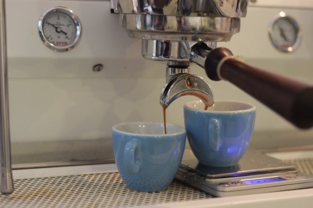 One-minute espresso at Norm