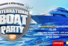 international boat party