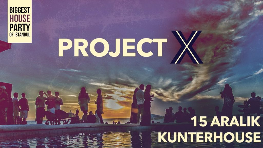 Project X Private House Party By Erasmus Nation Crew