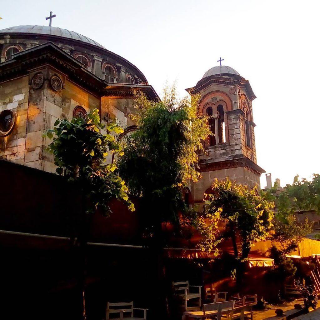 Meryem Ana Kilisesiö kumkapı