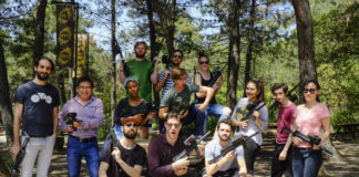 EVO Sports Istanbul Premier Paintball Laser Tag Experience