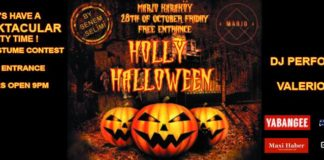 Holly Halloween