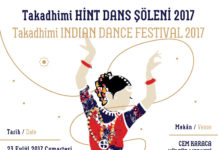 Takadhimi Indian Dance Festival 2017 @ Cem Karaca Cultural Center