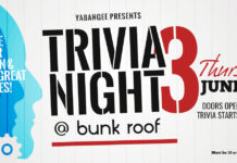 Yabangee Trivia Night #3