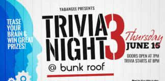 Yabangee Trivia Night #3