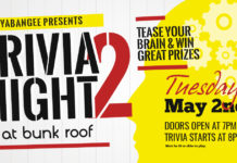 Trivia Night #2 at Bunk Roof