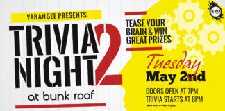 Trivia Night #2 at Bunk Roof