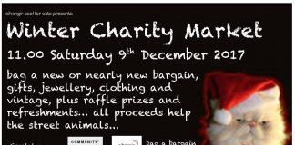 winter charity market