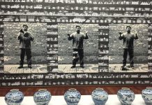 """Dropping a Han Dynasty Urn"" by Ai Wei Wei at Sakip Sabanci Museum"
