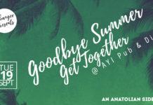 Goodbye summer edition