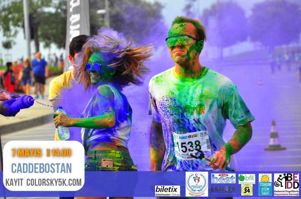 Istanbul Color Sky 5k Run