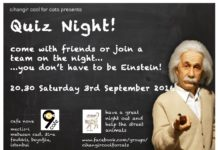 quiz night for cats sep 3
