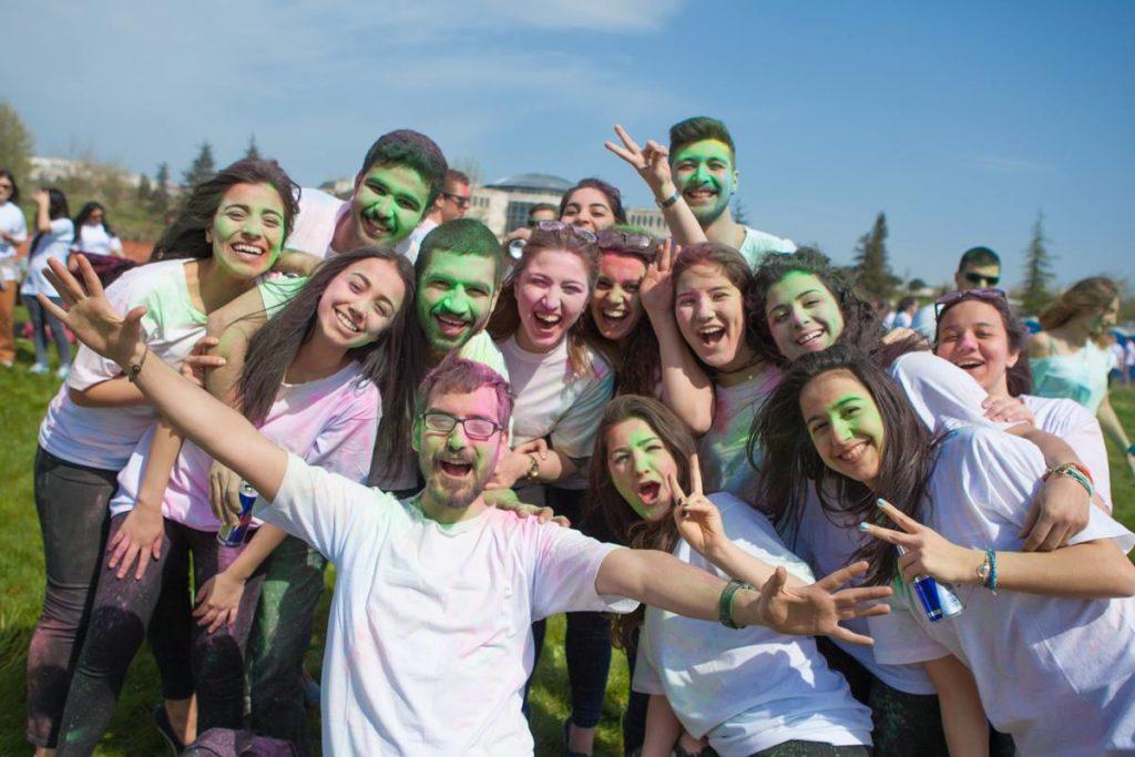 Sabancı University Holi Fest