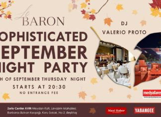 sophisticated september party