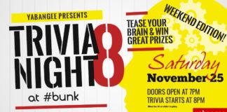 Yabangee Presents: Trivia