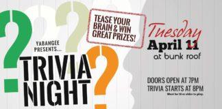 yabangee trivia night
